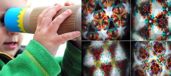 دوربین زیبا و جالب با وسایل دورریختنی برای کودکان خود بسازید+تصاویر