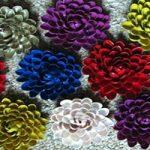 کاردستی گل زیبا و ساده با پوست های پسته بسازید+تصاویر