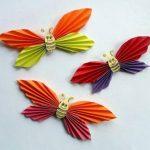 پروانه کاغذی بسیار جالب را با روشی ساده درست کنید+تصاویر