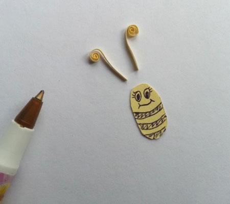 پروانه کاغذی بسیار جالب را با روشی ساده درست کنید تصاویر