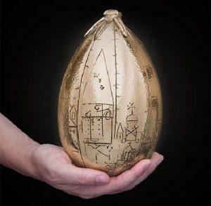 آموزش ساخت کاردستی تخم مرغ متفاوت و زیبا با وسایل دورریختنی+تصاویر