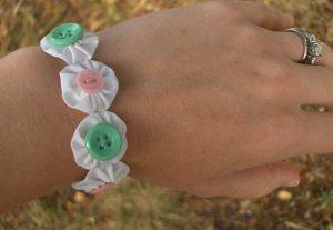 دستبند پارچه ای زیبا