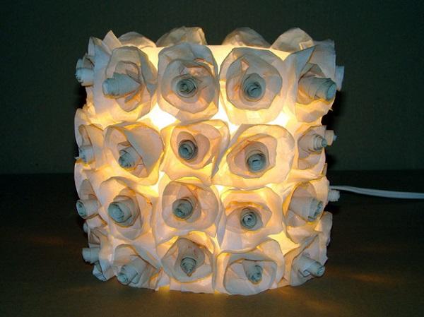 چراغ خواب بسیار شیک با وسایل ساده و دورریختنی بسازید +تصاویر