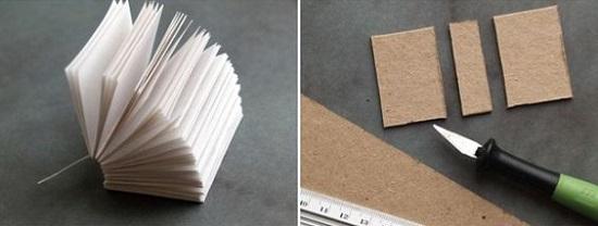 کتابچه آویزان بسیار جالب با روشی راحت درست کنید تصاویر