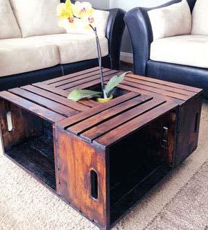 میز جلو مبلی بسیار زیبا با وسایل خیلی ساده بسازید+تصاویر