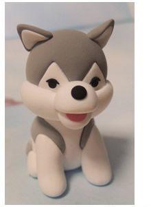 آموزش درست کردن کاردستی مجسمه سگ خمیری دوست داشتنی تصاویر