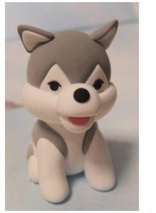 آموزش درست کردن کاردستی مجسمه سگ خمیری دوست داشتنی+تصاویر