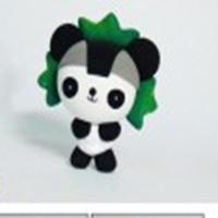 آموزش ساخت عروسک پاندا کونگ فو کار خمیری با روشی بسیار ساده+تصاویر