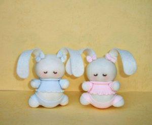آموزش ساخت عروسک خرگوش دوست داشتنی با جوراب+تصاویر