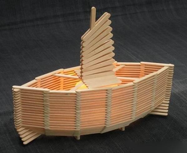 کاردستی و خلاقیت با چوب