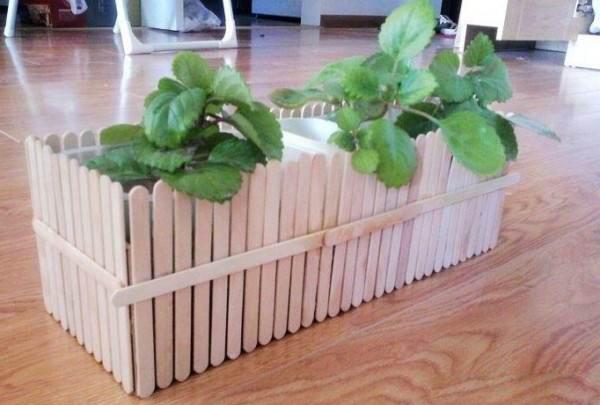 کاردستی و خلاقیت با چوب کاری جدید و بسیار زیبا در منزل با کودکان + تصویر