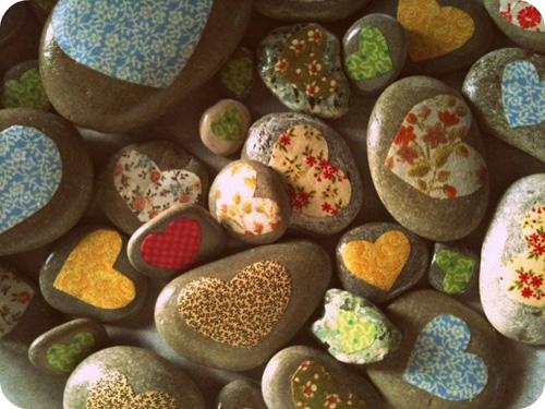 ساخت کاردستی با سنگ