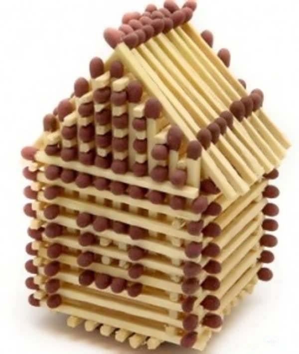 کاردستی با چوب کبریت