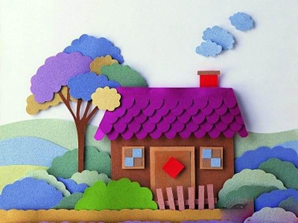 ساخت کاردستی با کاغذ رنگی