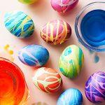 تزیین تخم مرغ های عید نوروز با طرح های زیبا + تصاویر