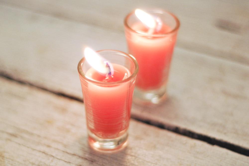 آموزش شمع در خانه به راحتی با شمع های نیم سوخته + تصاویر