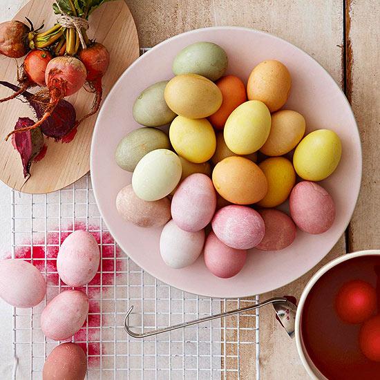 تزیین تخم مرغ های عید نوروز
