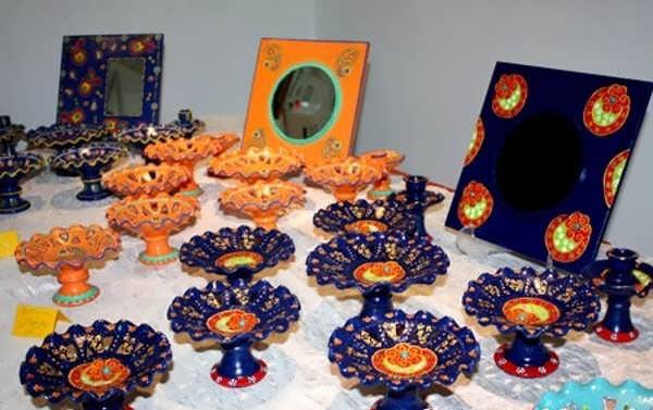 نقاشی روی ظروف هفت سین