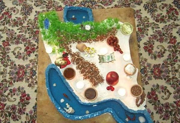 ساخت کاردستی عید نوروز برای کودکان
