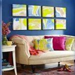 آموزش تابلوهای ابری کار هنری زیبا و پرکاربرد در خانه + تصاویر