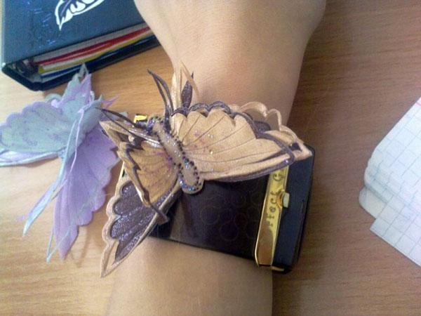 ساخت پروانه تزیینی