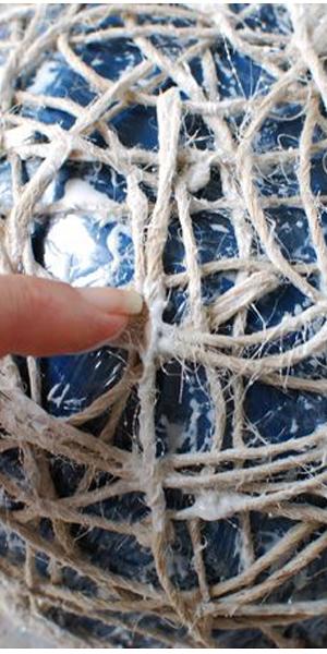 ساخت کاسه با کنف