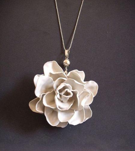 ساخت گل رز با قاشق پلاستیکی