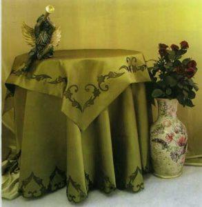 آموزش تزیین رومیزی با طرح های متفاوت هویه کاری