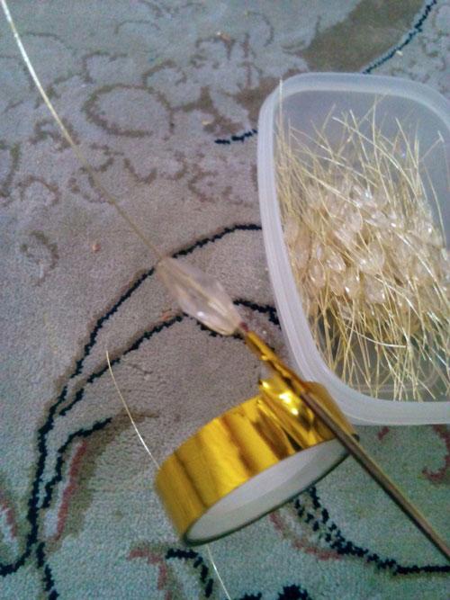 ساخت خوشه گندم کریستالی