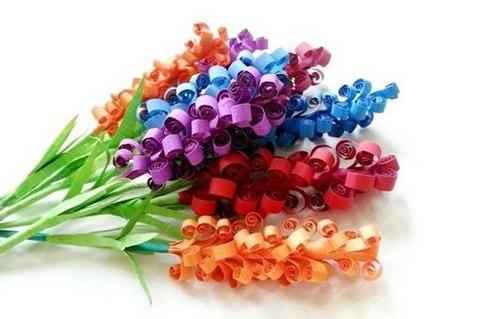 ساخت گل با کاغذ و مقوا کاری بسیار زیبا و کم هزینه + تصاویر