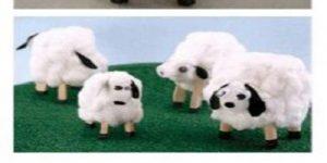 آموزش ساخت کاردستی گوسفند با وسایل دورریختنی