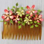 ساخت گل با سیم و لاک از زیباترین کارهای هنری در خانه
