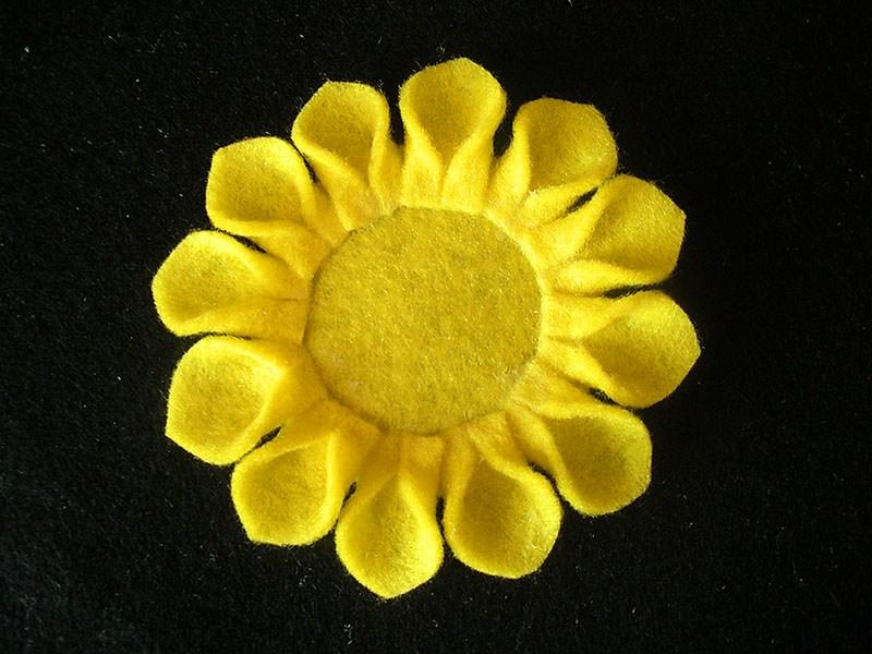 آموزش گل آفتابگردان
