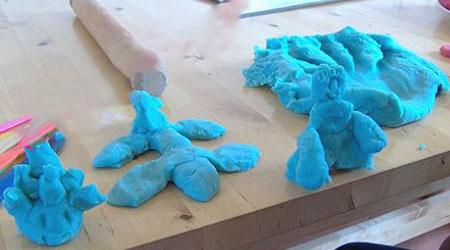 آموزش تهیه و ساخت خمیر بازی با روشی بسیار ساده