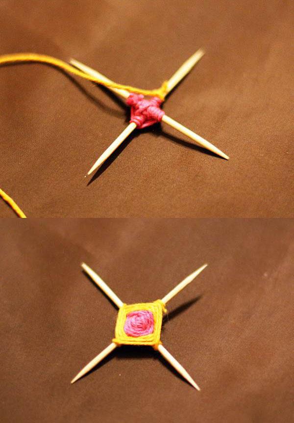 ساخت سنجاق سینه ماندالا