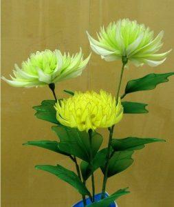 آموزش گل جورابی ایده ای زیبا و جالب با همراه با طرح های دیدنی