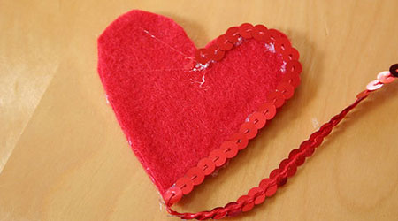 ساختن قلب پولکی