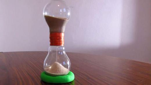 ساخت کاردستی ساعت شنی