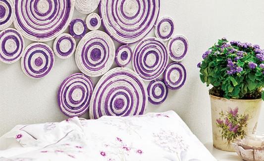 تزئین دیوار اتاق خواب