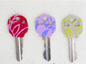 آموزش درست کردن کاور تزئینی زیبا برای کلید