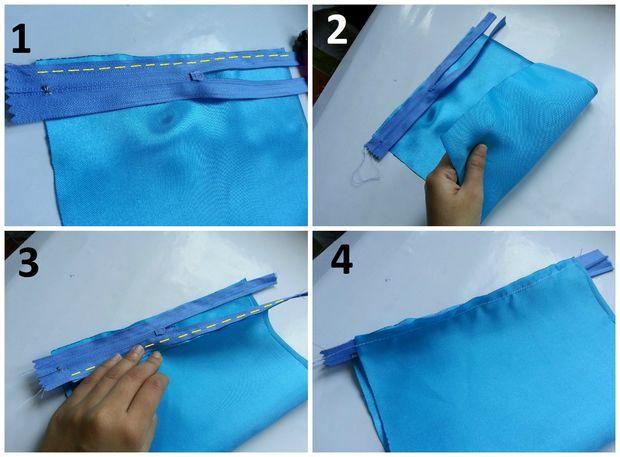 درست کردن کیف دستی کریستالی