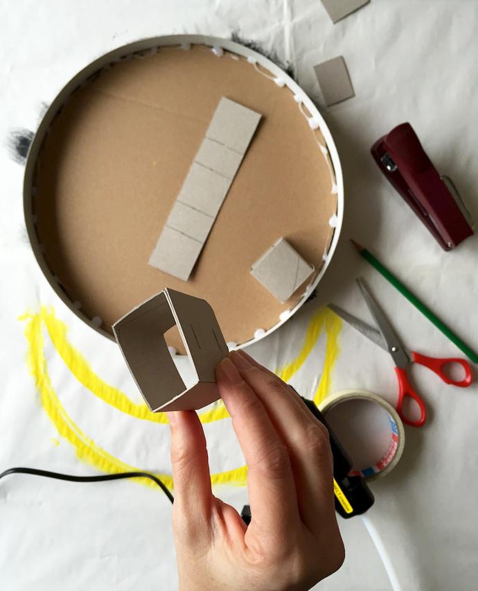 درست کردن چراغ خواب فانتزی