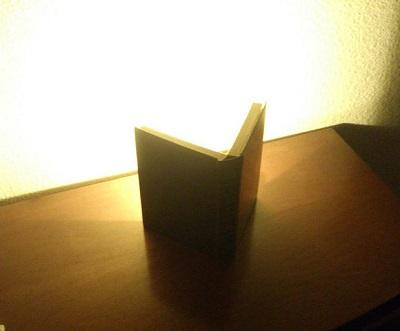 آموزش درست کردن چراغ خواب با کتاب قدیمی