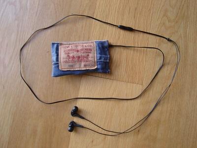 آموزش درست کردن کیف موبایل با شلوار جین کهنه