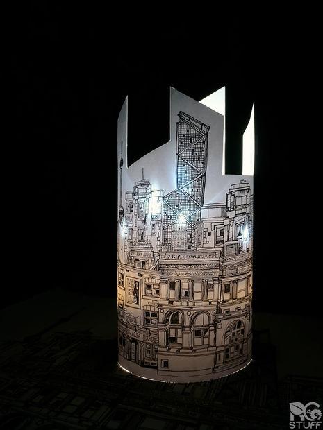 لامپ کاغذی