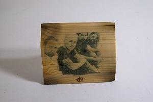 آموزش چاپ روی چوب در خانه