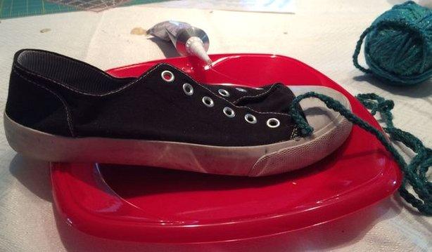 تزیین کفش