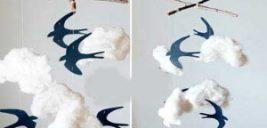 طرز درست کردن کاردستی پرنده