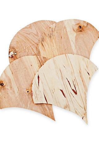 ساخت دیوارکوب چوبی