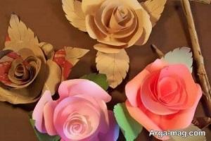 آموزش گلسازی با مقوا برای ساخت گل های بسیار زیبا